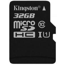 Карта памяти Kingston microSDHC 32GB Class 10 UHS-I R45/W10MB/s